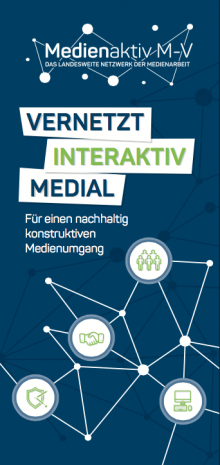 Cover des Flyers Medienaktiv M-V.