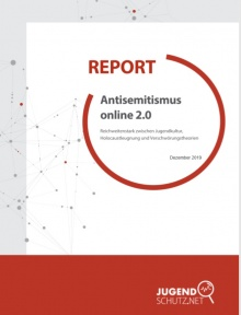 Cover: Report: Antisemitismus online 2.0