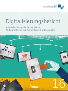 Cover: Digitalisierungsbericht 2016